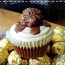 Nutella Ferrero Rocher Cupcakes