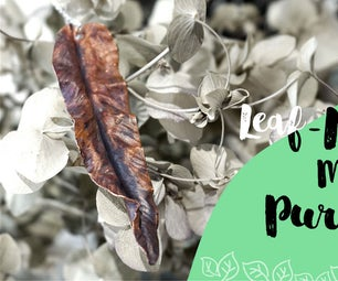 DIY Tutorial - How to Made the Leaf Necklace With Pure Copper!?☺