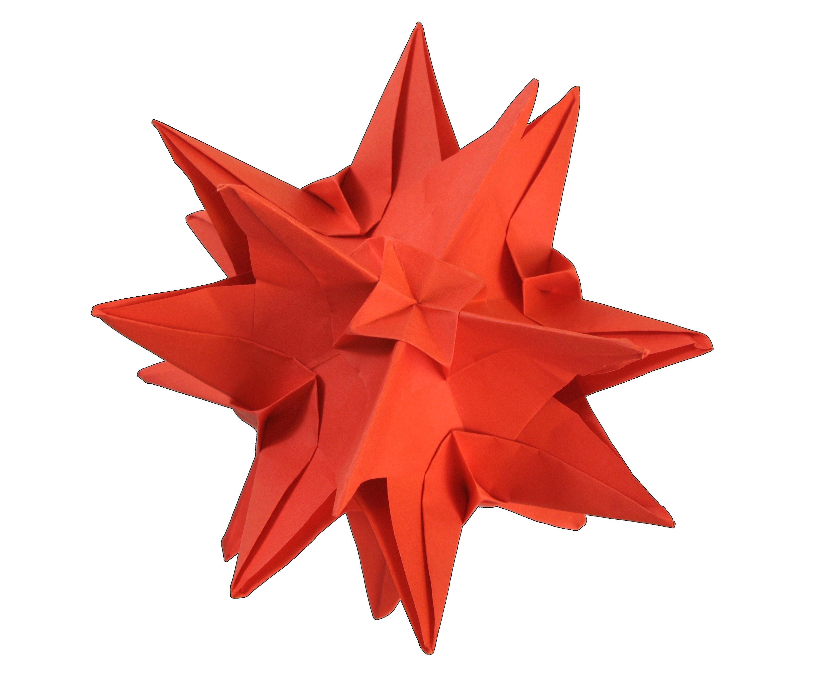 Origami Kusudama Nina 6 units)