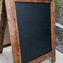 Reclaimed Pallet Wood Sandwich Board
