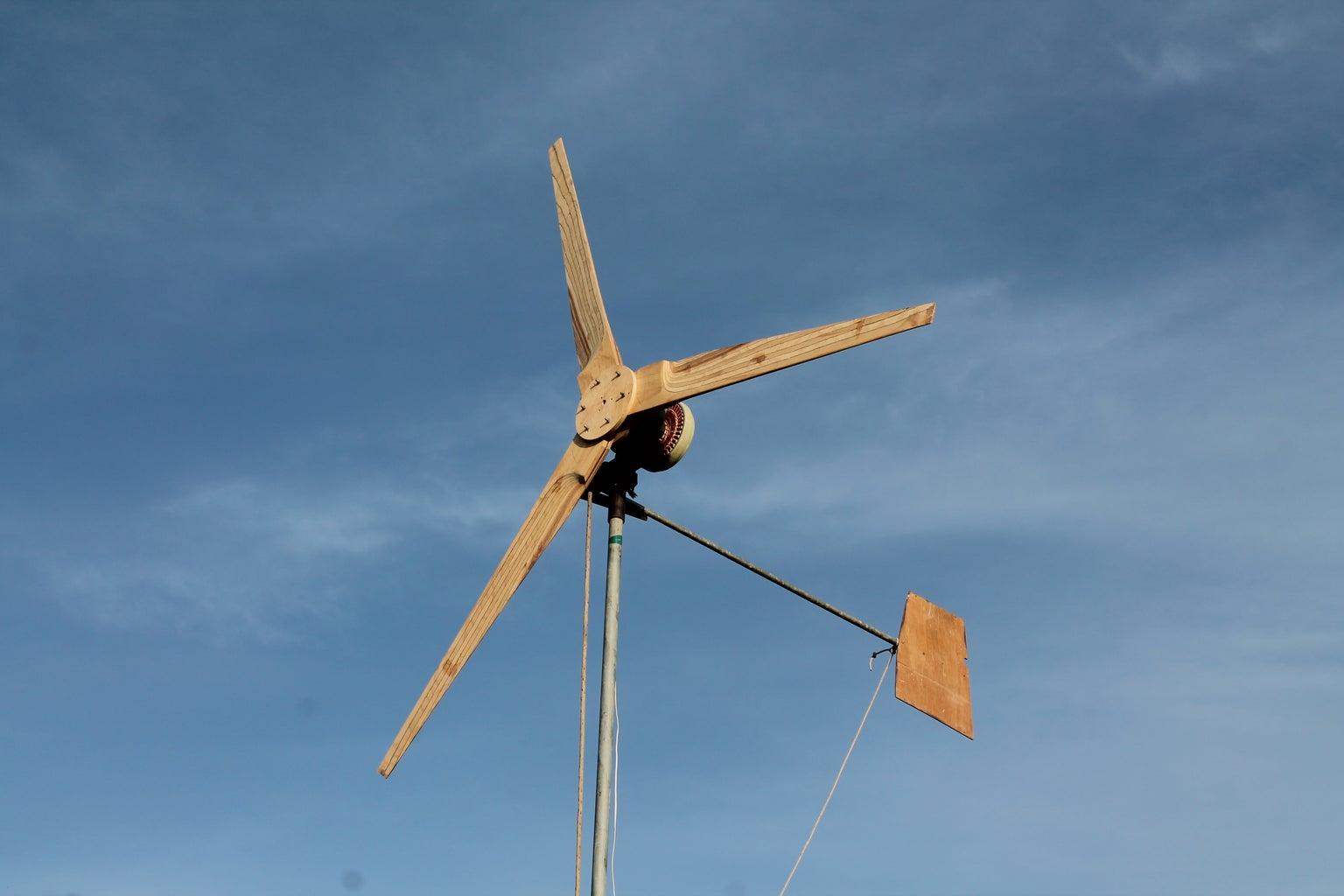 Dual Stator Smart Drive Wind Turbine (Tutorial)