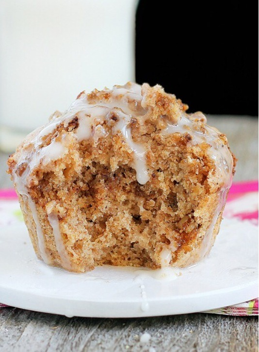 Coffee Cake In A Mug {Healthy Version}