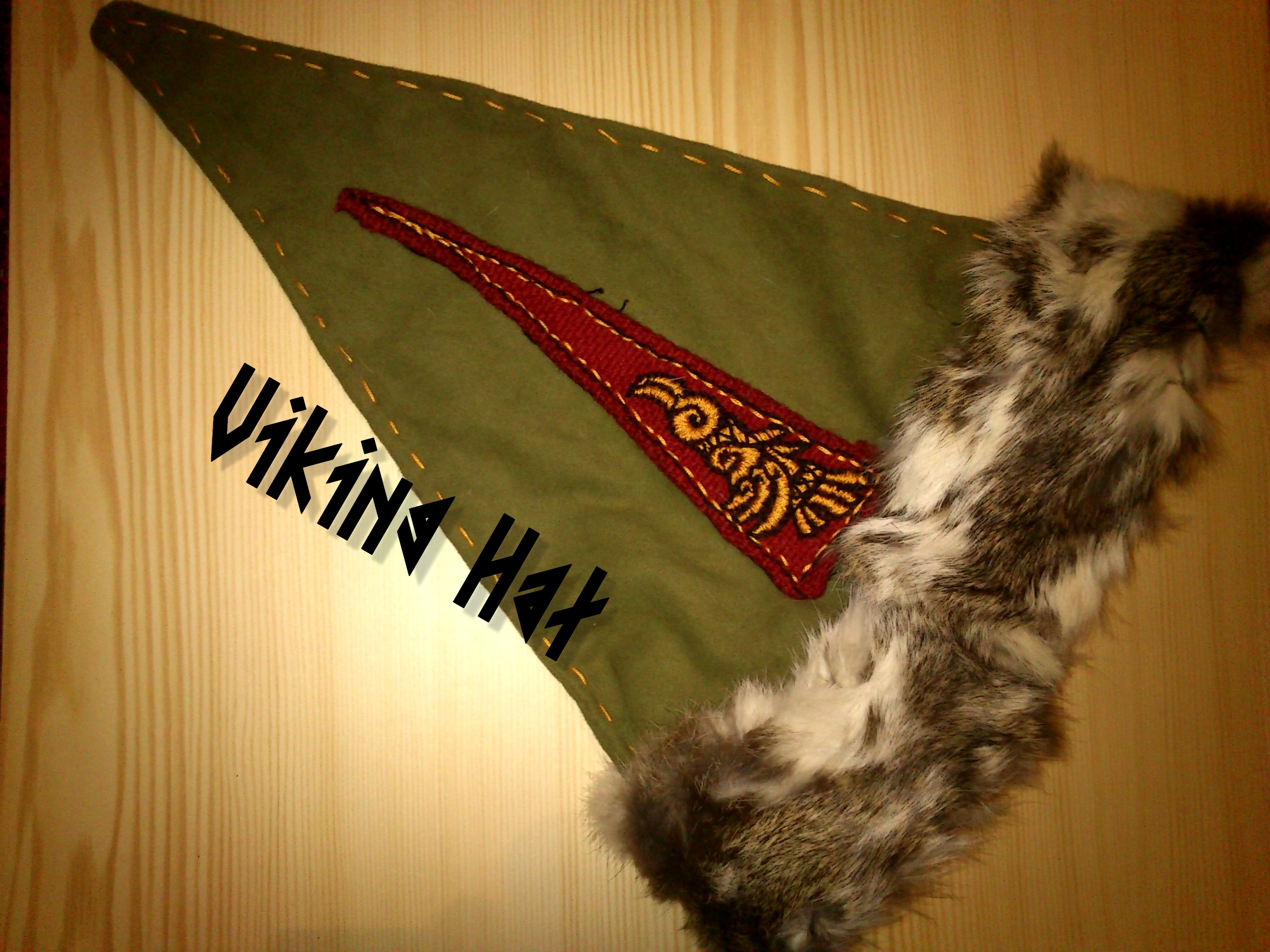 Viking triangle hat