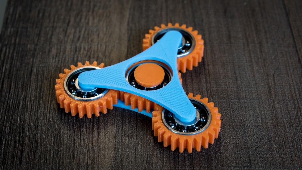 Geared Fidget Spinner