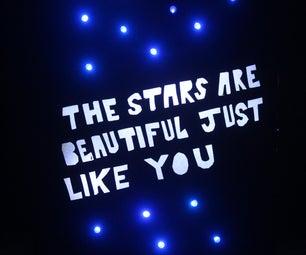 Shiny Stars Night Light