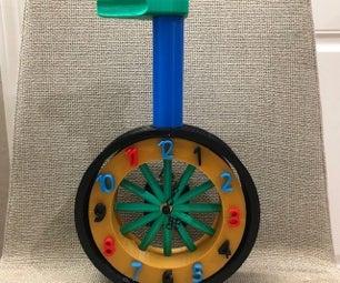 Unicycle Clock