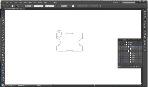 Designing Wallet in Illustrator