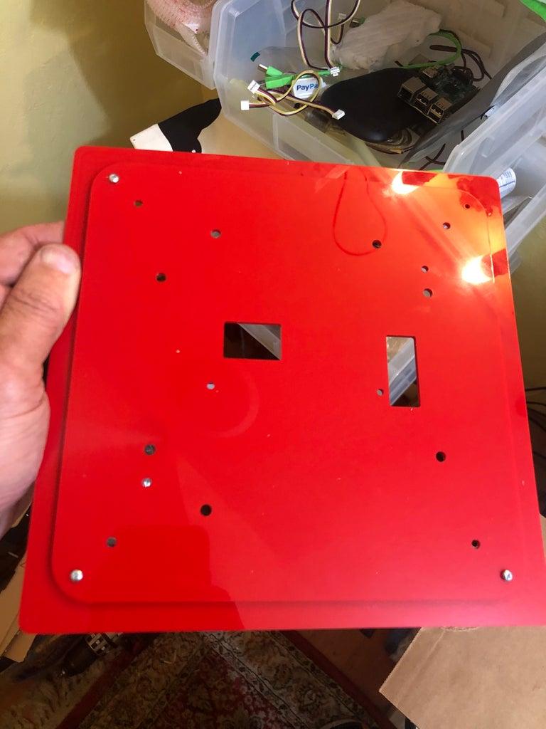 Bottom and Back Sides W/ Maintenance Ports and PIXEL LED Panel Mount