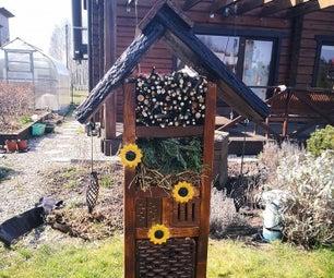 Bug House Build + a Timelapse Video