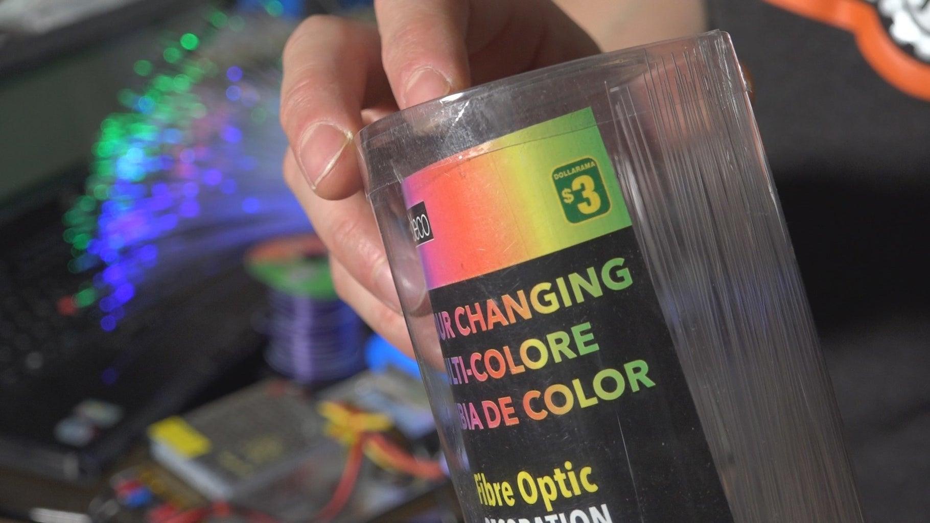 Fiber Optic Light Filaments