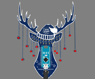 Christmas Rein Deer Pcb Design/Board