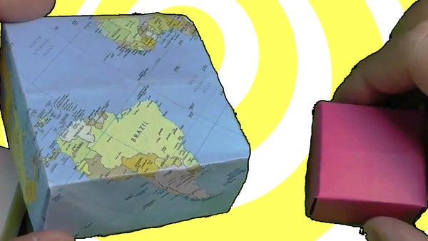 Easy Origami Box - Video Tutorial