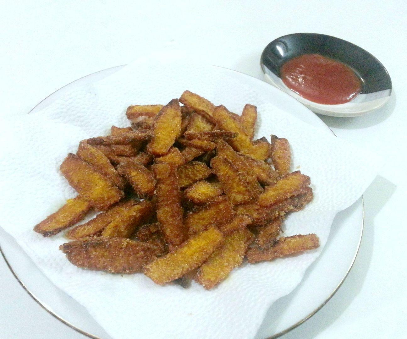 Fried Pumpkin Chips