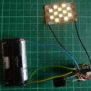 The any value Joule Thief - Single AA high power white LED driver