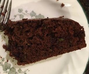 Fudgy Chocolate Zucchini Cake