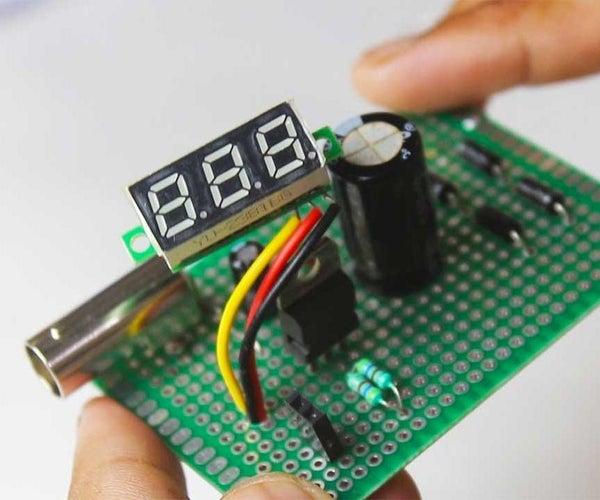 LM317 Adjustable Power Supply