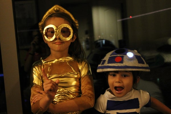 These ARE the Droids We're Looking For!  C-3PO and R2-D2!