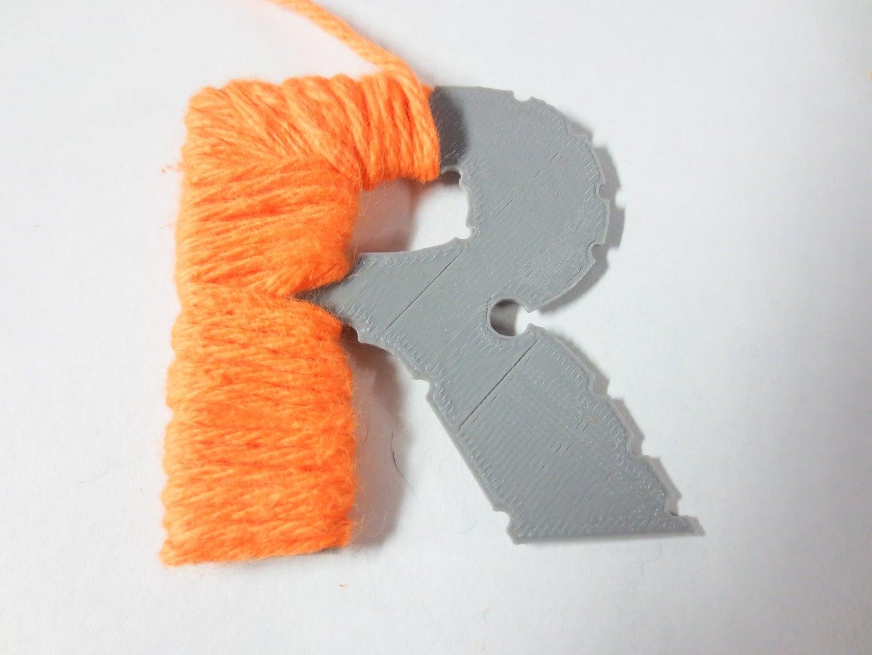 Wrap Yarn Around Templates (Hardest)