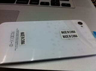 Transparent IPhone 4 Back