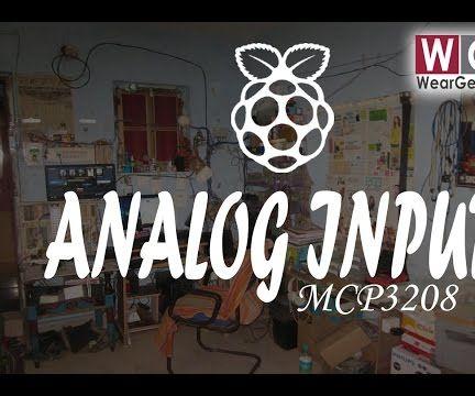 Reading Analog Signals on Raspberry Pi using MCP3208 ADC (VIDEO)