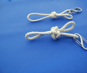 Crown and Wall (footrope Knot) Lanyard/zipper Pull