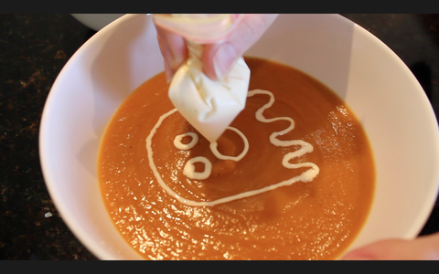 Decorate and Serve the Soup