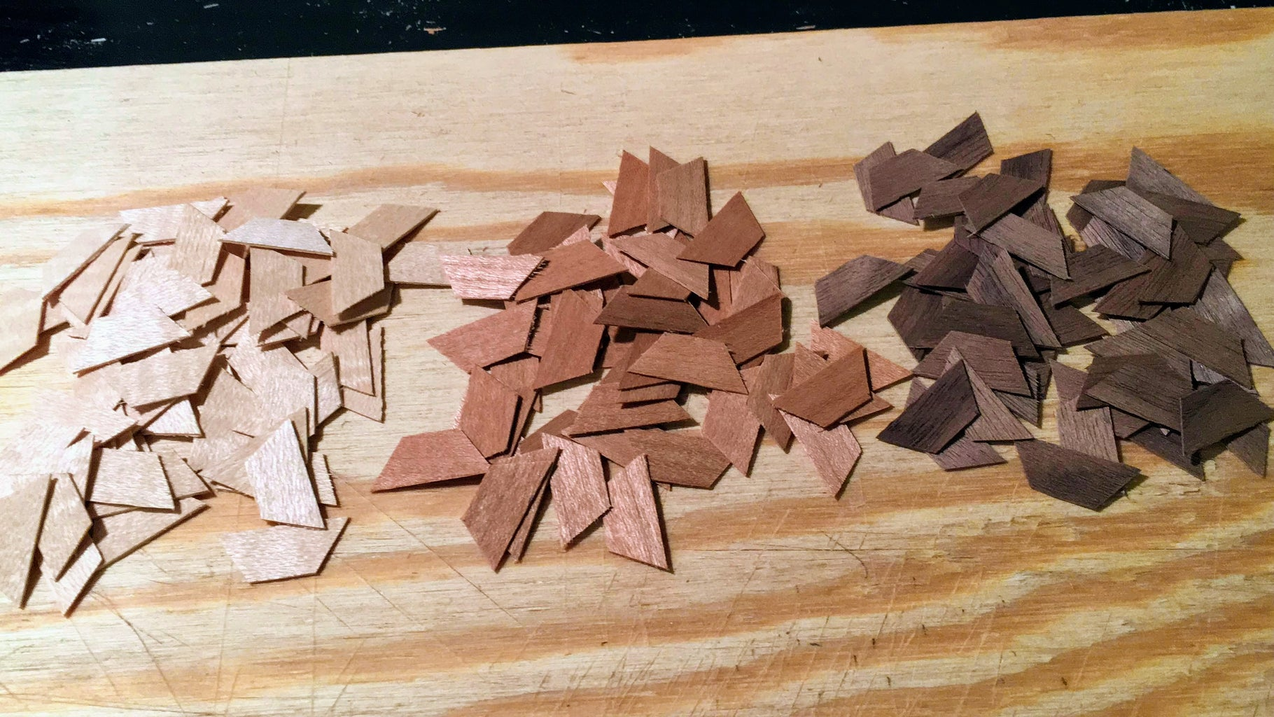 Cutting the Trapezoids