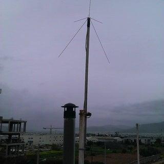 Quarter Wave Dual Band VHF/UHF  Ham Radio Antenna by Asni Nor Rizwan