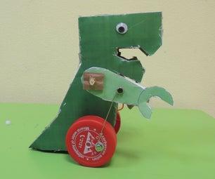 课堂活动:制作电动纸板恐龙
