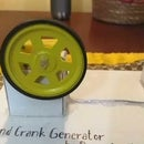 Hand Crank Generator School Science Project