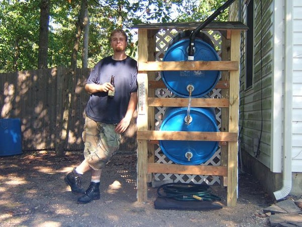 How to Build a Rain Water Collector