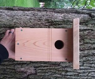 How to Build a Bluebird Birdhouse