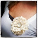 Doily Lace Flower Accessory