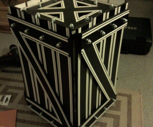 Box Made Out of Slats