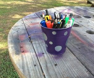 Pokadot Pencil Cup