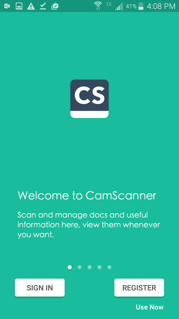 Scanning and Email Using CamScanner