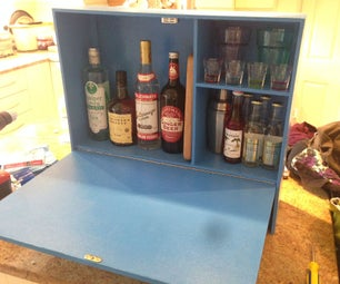 Wall Mounted Mini-bar
