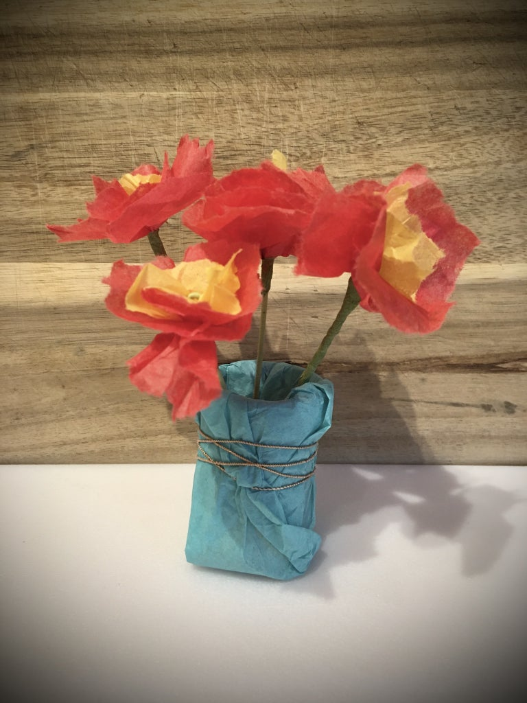 Place Your Beautiful Flowers in the Vase!