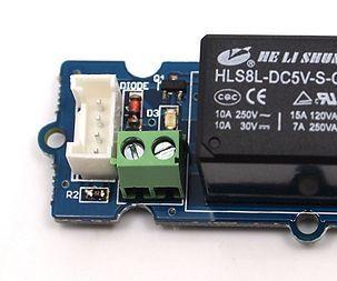 Grove Relay Basic Using Intel Edison