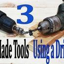 3 herramientas caseras: uso de un taladro Life Hacks.