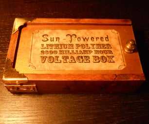 Steampunk Solar USB Charger
