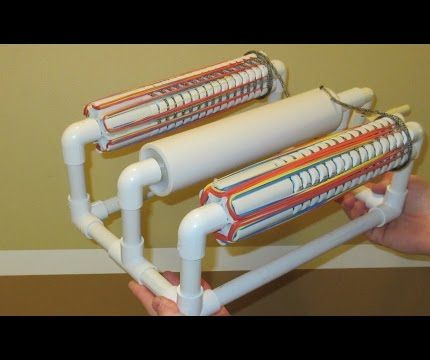 Double Barrel Rubber Band Gun - PVC Pipe Projects