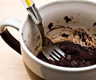 Hacer Un Brownie En Una Taza