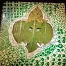 Ceramic Leaf Art