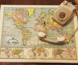 Turning a Rotary Phone Into a Web Radio