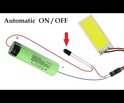 Simplest Automatic ON OFF Room Emergency Led Light