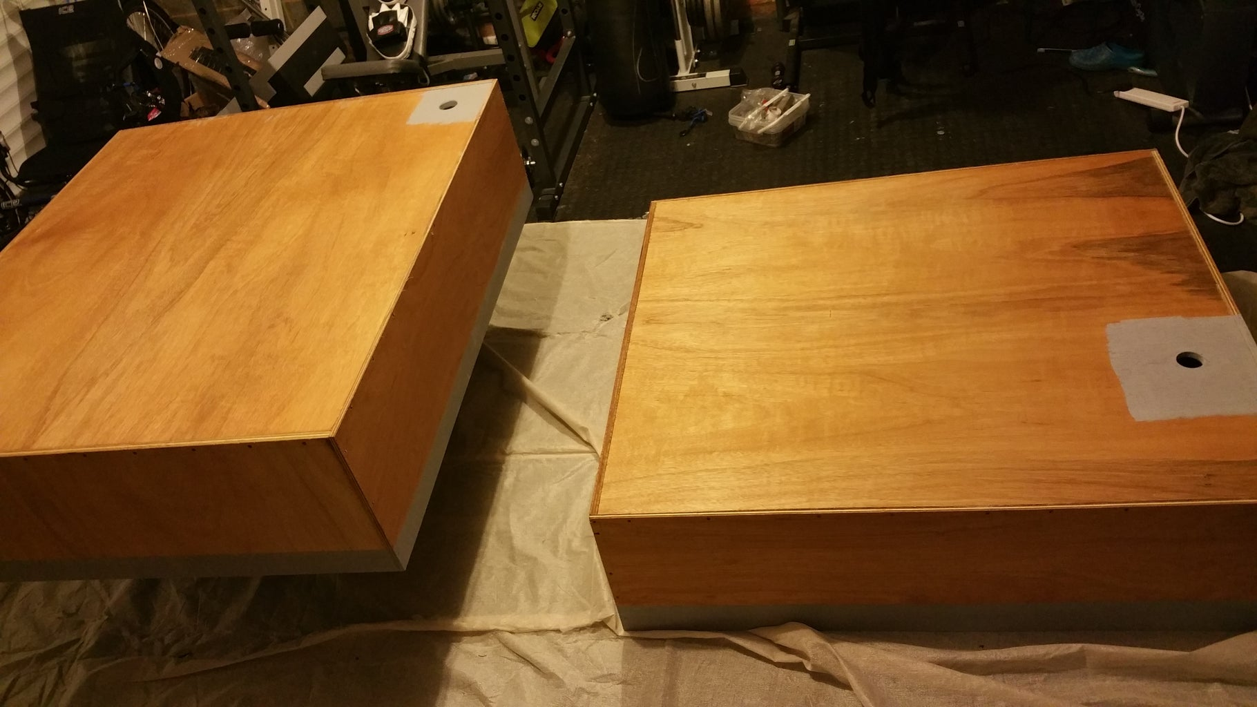 Paint the Box Then the Offcut.