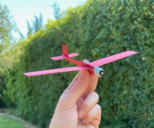Card Stock Trainer Airplane [STEM Plane]