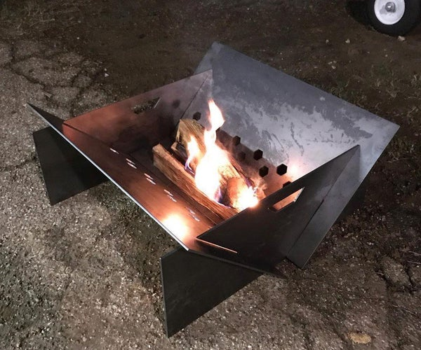 Build Your Own Portable or Stationary Firepit