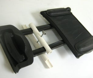 Build a Cheap Car Seat Roller for Use at the Airport